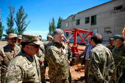 В Славянск снова едет президент. Пройдет ли телевышка на Карачуне проверку главой государства?